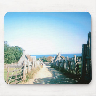 Plymouth Plantation Mouse Pad