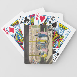 Plymouth Playhouse, plate from 'The Adventures of Bicycle Playing Cards