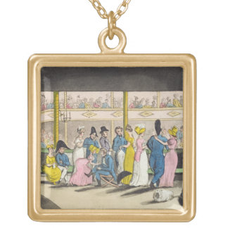 Plymouth Playhouse, plate from 'The Adventures of Gold Plated Necklace
