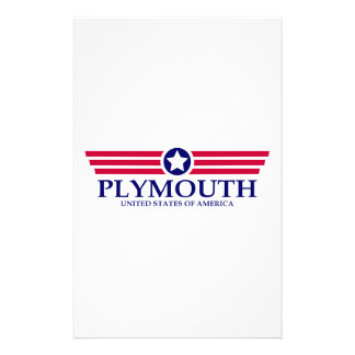 Plymouth Pride Personalized Stationery