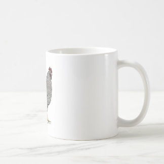Plymouth Rock Chicken Drawing Basic White Mug