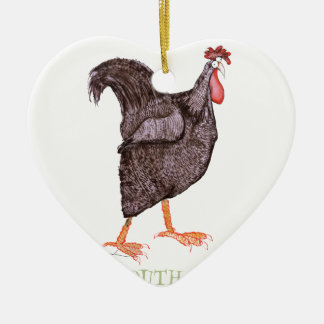 PLYMOUTH ROCK HEN, tony fernandes Christmas Ornament