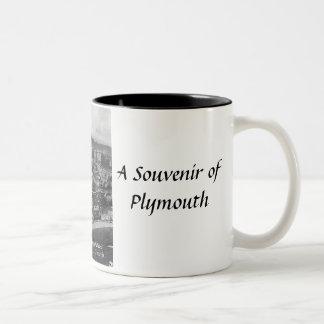 Plymouth Souvenir Mug