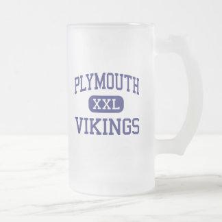 Plymouth - Vikings - High - Plymouth Coffee Mug