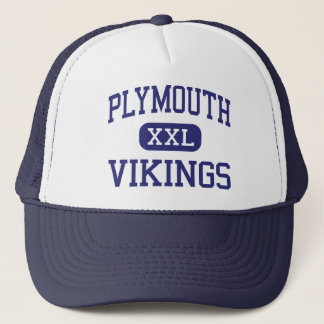 Plymouth - Vikings - High - Plymouth Trucker Hat