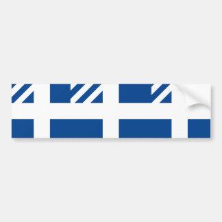 Pm Of Greece Greece flag Bumper Sticker