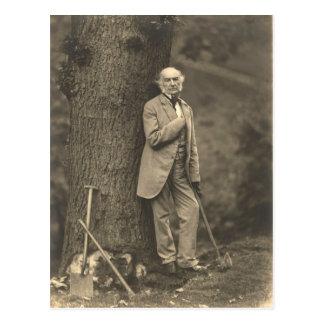 PM William Gladstone Postcard