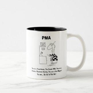 PMA by April McCallum Two-Tone Coffee Mug