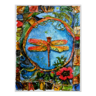 PMACarlson Dragonfly ll Poster