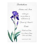 PMACarlson Elegant  Iris Invitation
