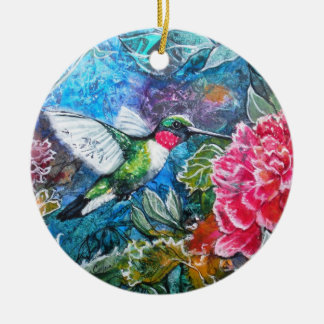 PMACarlson Hummingbird Ornament
