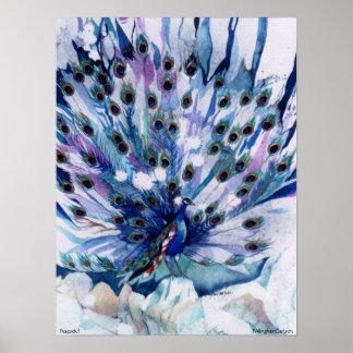 PMACarlson Peacock I Poster