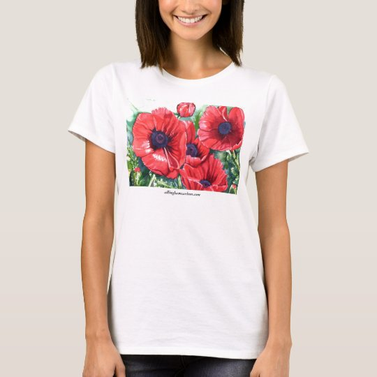 PMACarlson Poppies T-shirt