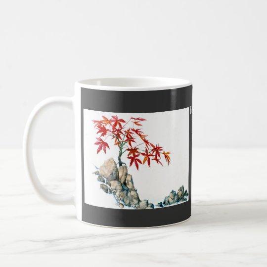 PMACarlson Red Maple Bonsai  Wedding  Mug