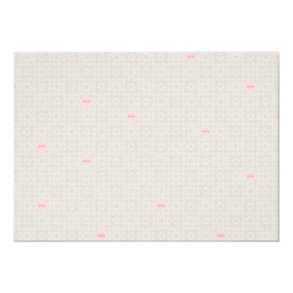 PMPH PINK PATTERN MOM SOFT PASTELS HEART SHAPES BA 13 CM X 18 CM INVITATION CARD