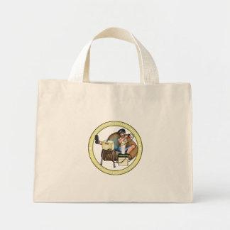 PMS Handbag- Pandora's Box Gold 2 Mini Tote Bag