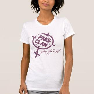 PMS Shirt- Purple Logo T-Shirt