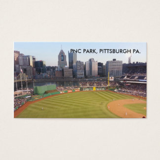 PNC PARK, PITTSBURGH PA BUSINESS CARD