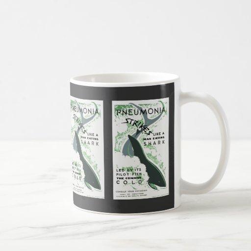 Pneumonia Strikes Classic White Coffee Mug