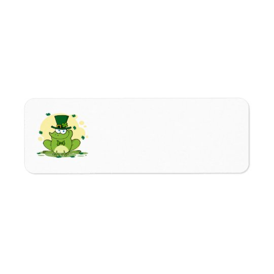 png_4678-Safe-Happy-Irish FROGGY FROG Clovers Return Address Label