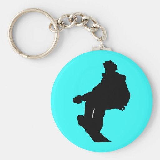 PNG_90_492007 SNOWBOARDER SPORTS FITNESS ACTIVITY KEYCHAIN