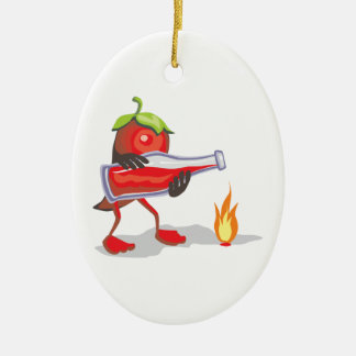 png_CincoDeMayo-015  Mayo mexican mexico chili hot Christmas Ornament