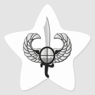 PNP Special Action Force Badge without Text Star Sticker