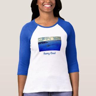 PNW Ferry Cool Raglan T-Shirt- Blue T-Shirt