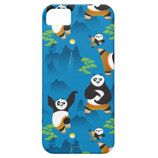 Po and Bao Blue Pattern Barely There iPhone 5 Case