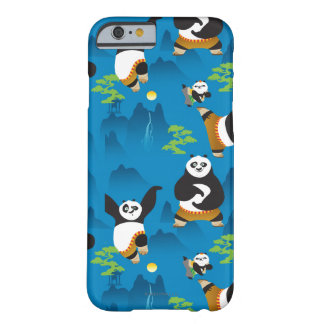 Po and Bao Blue Pattern Barely There iPhone 6 Case