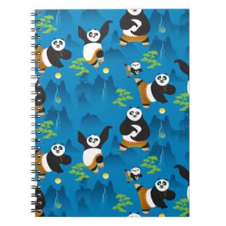 Po and Bao Blue Pattern Notebook