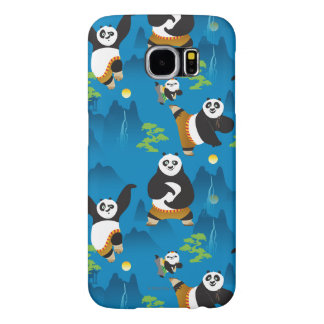 Po and Bao Blue Pattern Samsung Galaxy S6 Cases