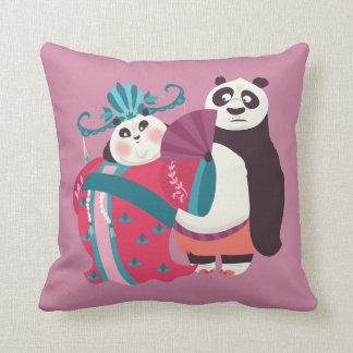 Po and Mei Mei Cushion