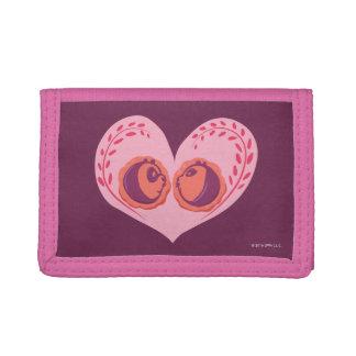 Po and Mei Mei in Heart Tri-fold Wallet