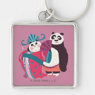 Po and Mei Mei Key Ring