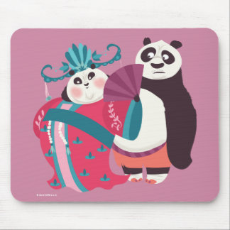 Po and Mei Mei Mouse Mat