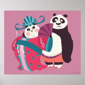 Po and Mei Mei Poster
