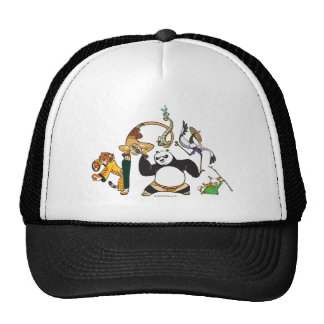 Po and the Furious Five Cap