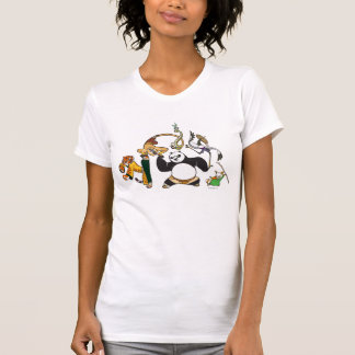 Po and the Furious Five T-Shirt