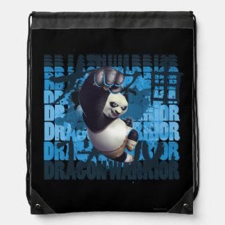 Po Dragon Warrior Drawstring Bag