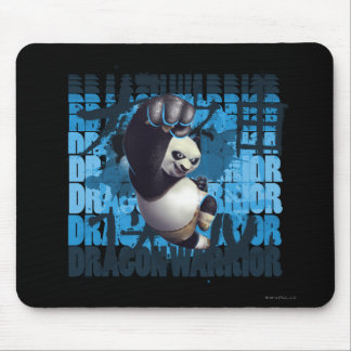 Po Dragon Warrior Mouse Mat