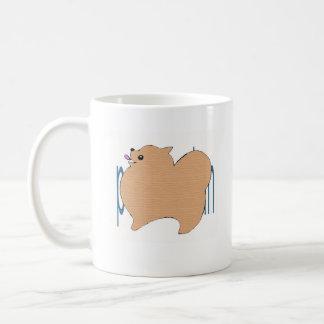 po me ma gu basic white mug