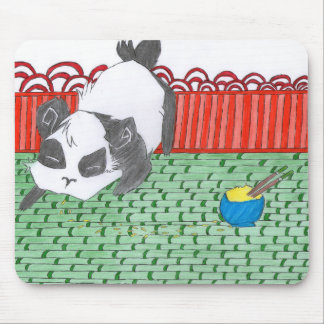 Po, our small panda of China Mouse Mat