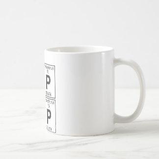 Po-P Po-P (pop pop) - Full Basic White Mug