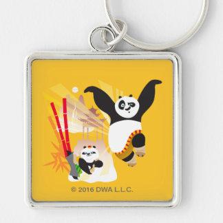 Po Ping and Bao Key Ring