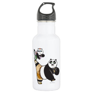 Po Ping and Bao Kicking 532 Ml Water Bottle