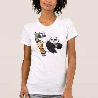 Po Ping and Bao Kicking T-Shirt