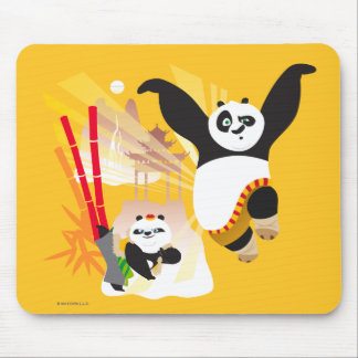 Po Ping and Bao Mouse Mat