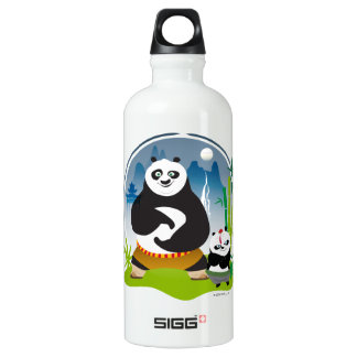 Po Ping and Bao Pose SIGG Traveller 0.6L Water Bottle
