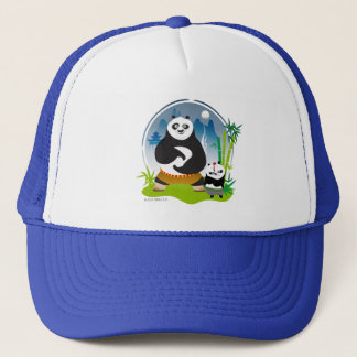 Po Ping and Bao Pose Trucker Hat
